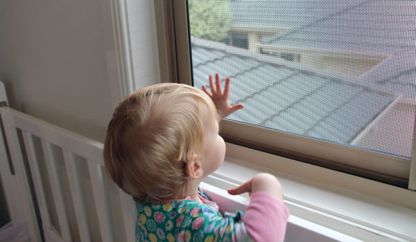 Fall Safe Window Screen