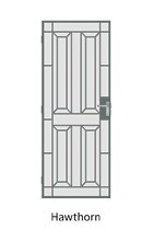 Hawthorn Steel door