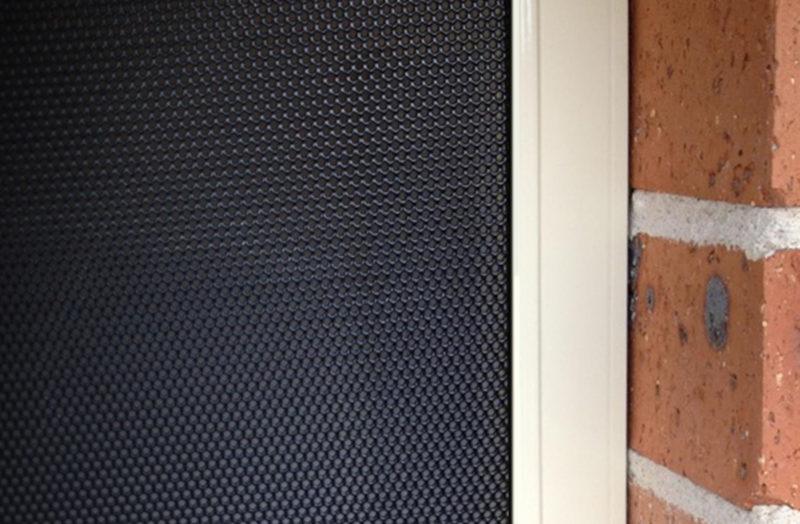 Security Screen Perforated Aluminium