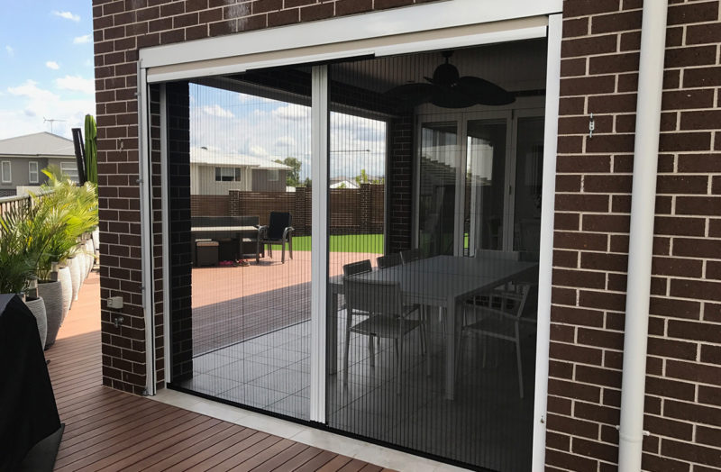 Pleated Retractable Insect Screens