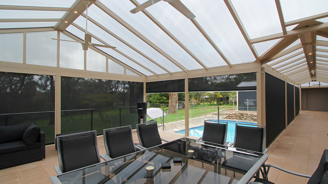 Outdoor Roller Blinds Retractable Amp Patio Blinds Online