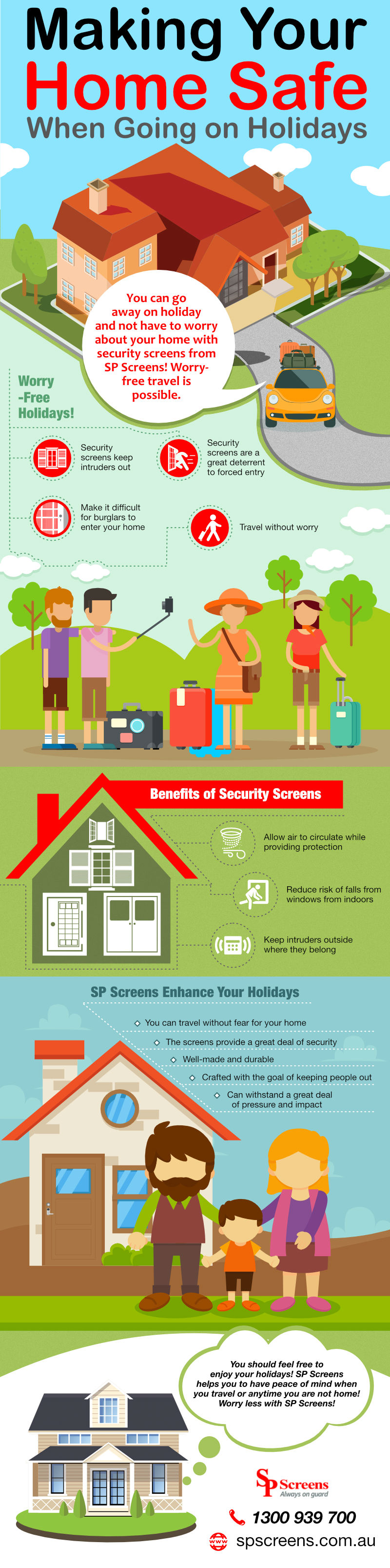 Making Your Home Safe When Going on Holidays