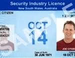 NSW Security Licence